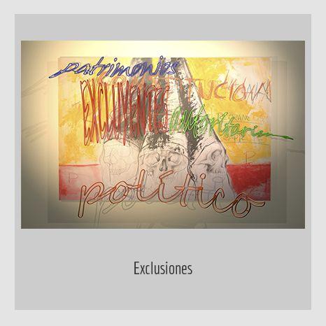 EXCLUSIONES.  YENY CASANUEVA Y ALEJANDRO GONZÁLEZ. PROYECTO PROCESUAL ART.