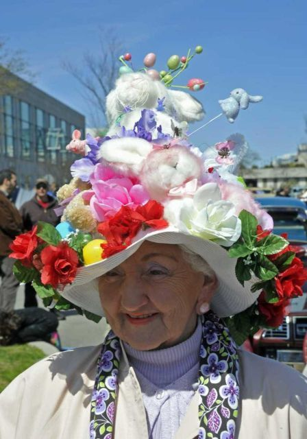 Extreme Easter bonnets on Long Island, NYC - Newsday