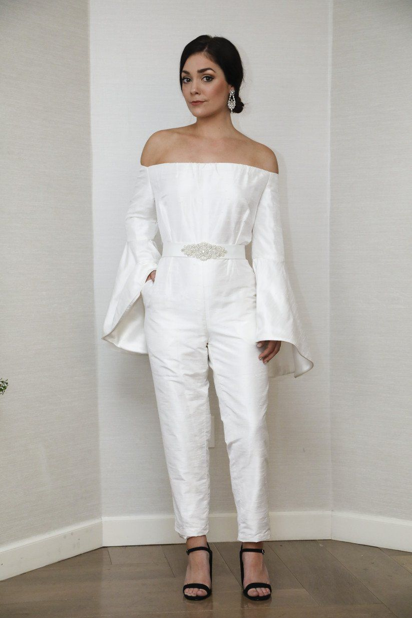 8f07c63a291 8 Bridal Jumpsuits for Your Wedding