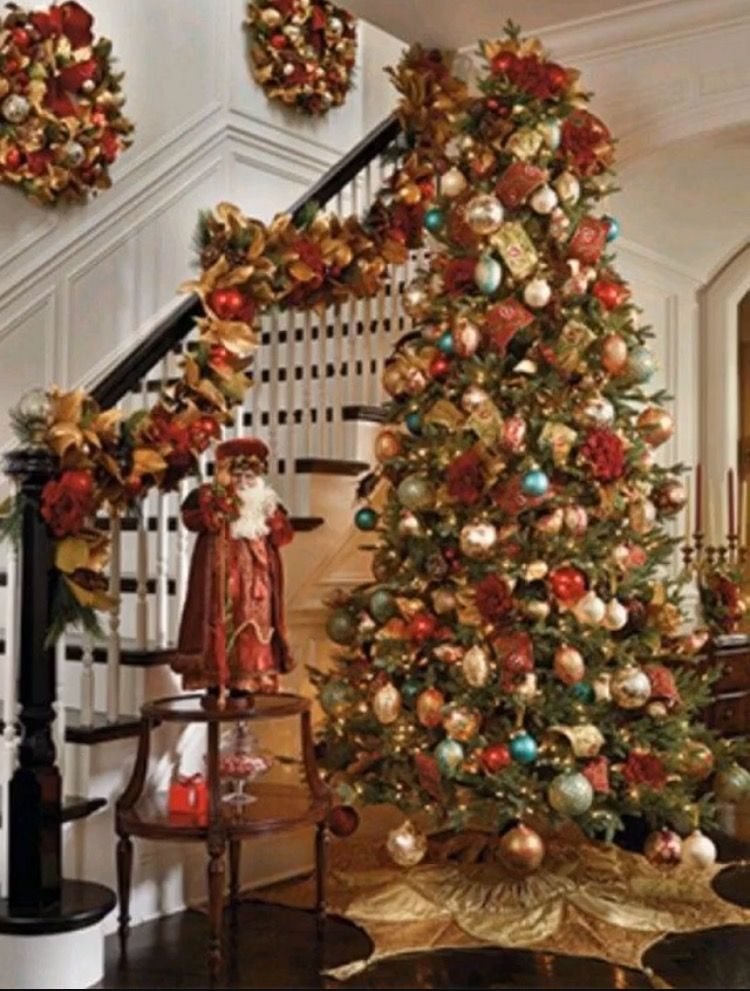 frontgate christmas decor pictures - Google Search Deck the Halls
