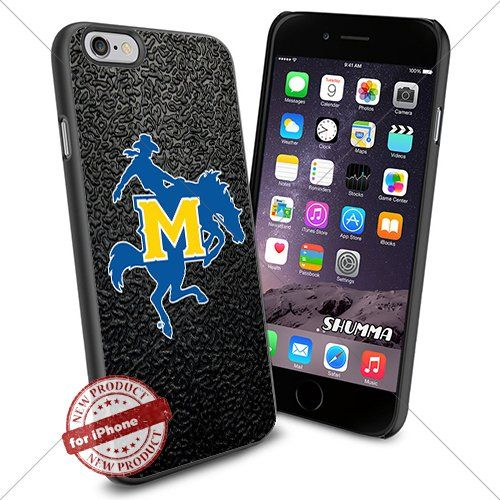 """NCAA-McNeese State Cowboys,iPhone 6 4.7"""" Case Cover Protector for iPhone 6 TPU Rubber Case Black SHUMMA http://www.amazon.com/dp/B012X3OG10/ref=cm_sw_r_pi_dp_iTIpwb0YASJJD"""
