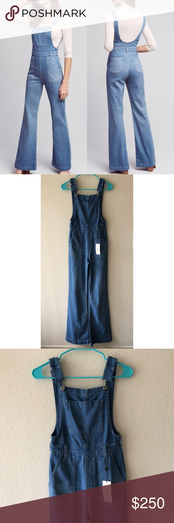 25af4a7c61f2 Denim Jumpsuit · NEW AG Adriano Goldschmied Lolita overalls flare Brand new  with tags. AG Adriano Goldschmied Lolita