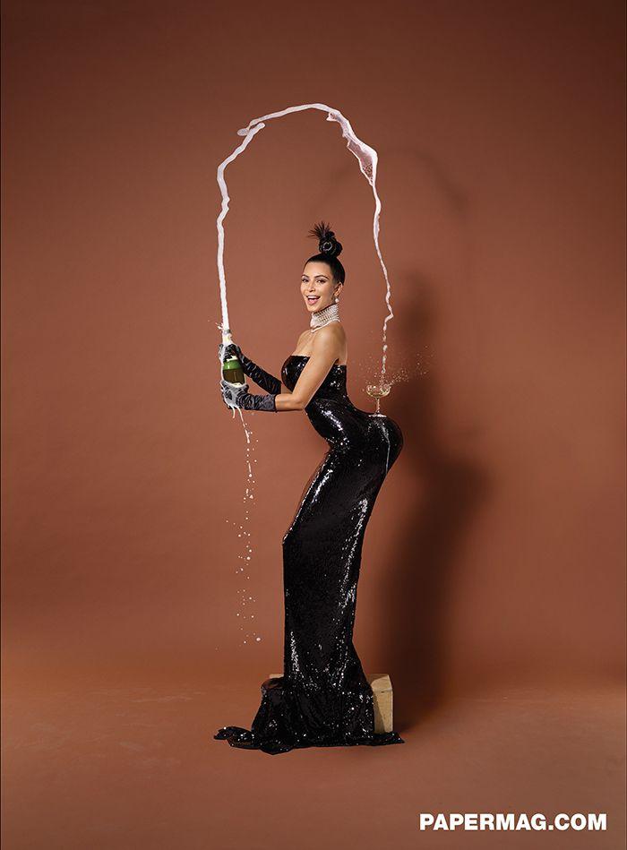 Kim Kardashian gets fully naked for Paper Magazine: http://lcknyc.com/kimknude