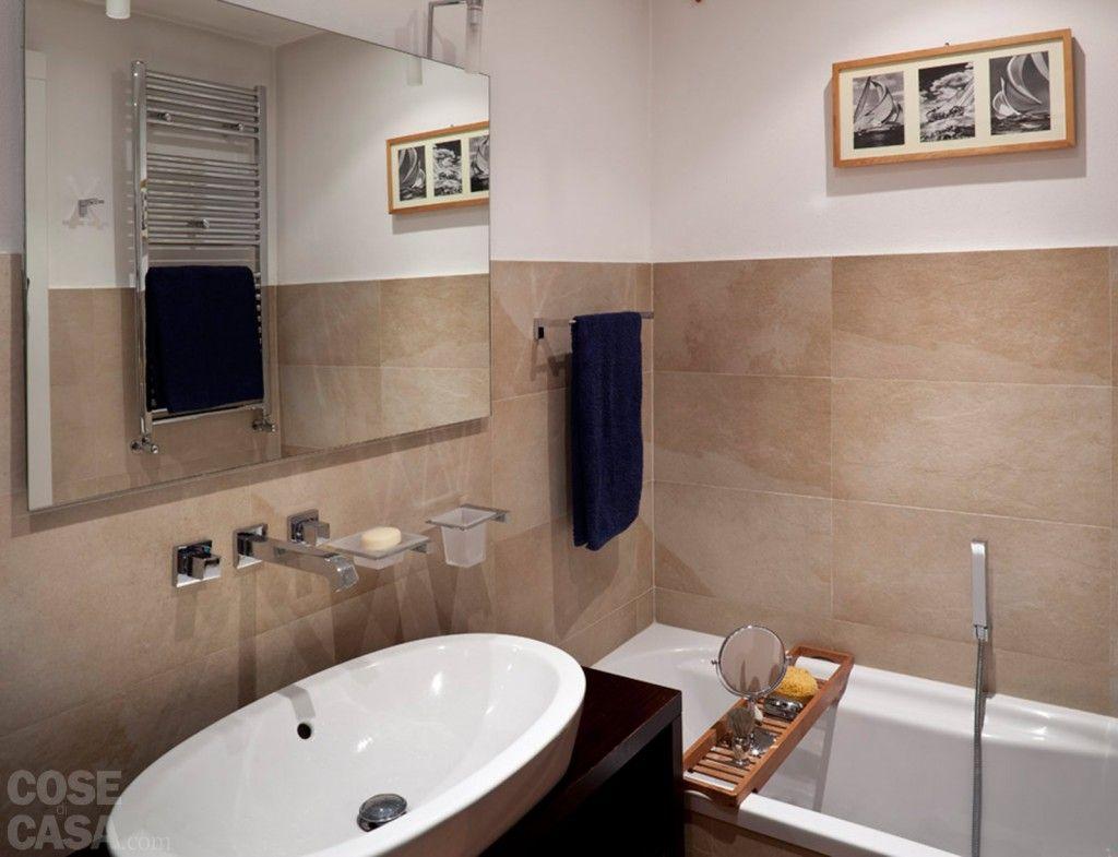 Vasca Da Bagno Doppia Dimensioni : Una casa rinnovata nel look con luce moltiplicata idee bagno