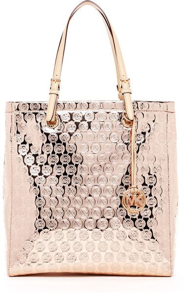 950fc49644c9 Michael Kors - Rose Gold Jet Set Monogram