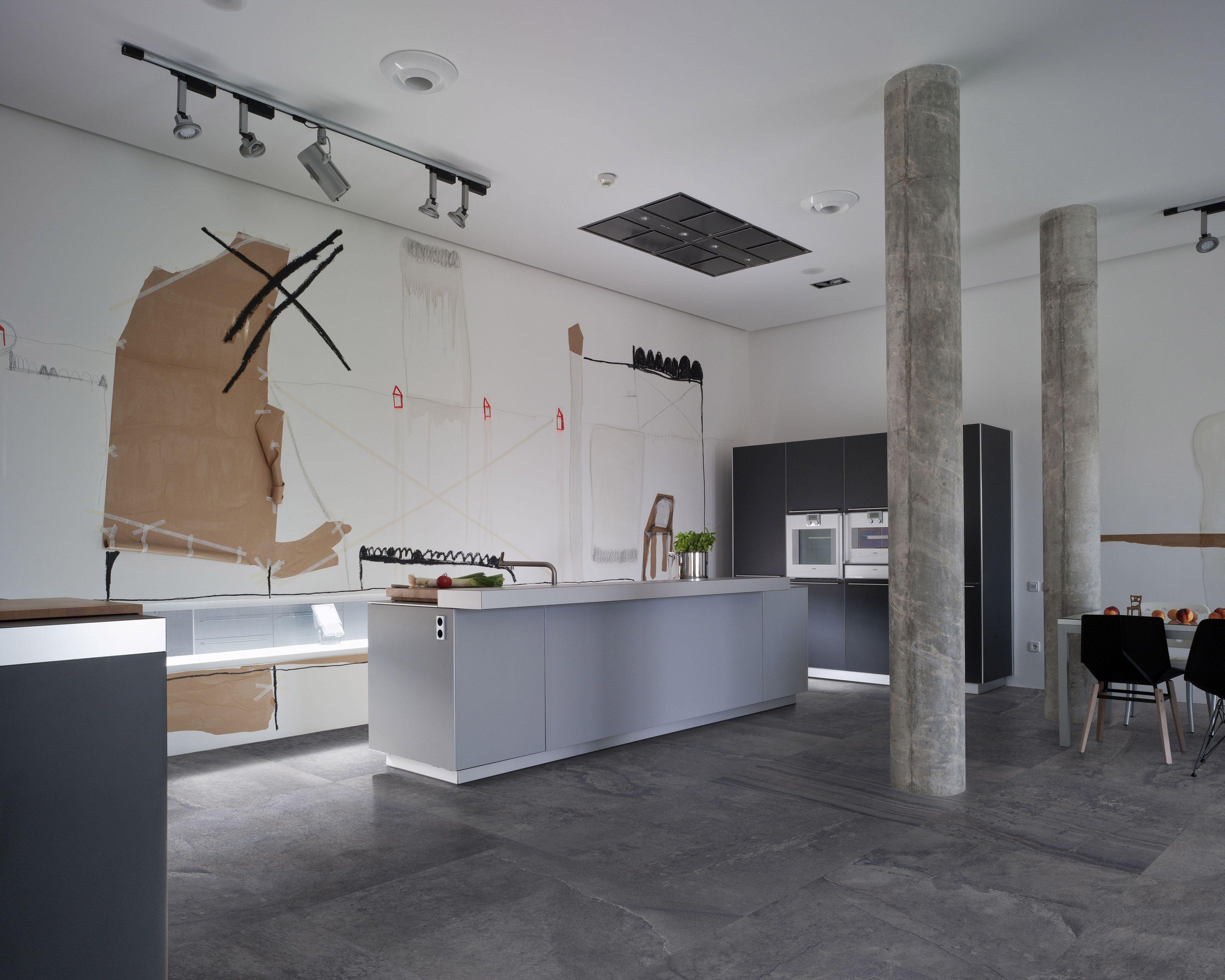 antraciet betonlook tegels in 80x80 36 tegelhuys. Black Bedroom Furniture Sets. Home Design Ideas