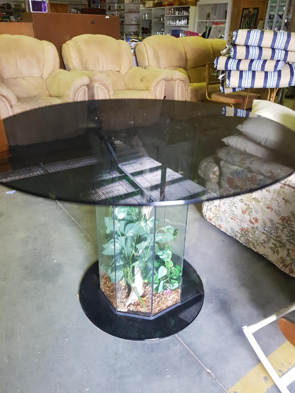 Amazing Large Fish Tank Dining Table Terrerium 4 Foot High