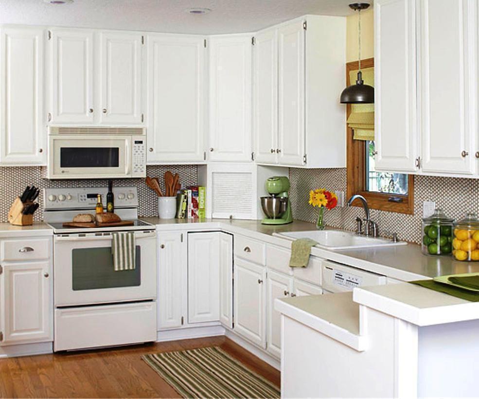 Condo Kitchen Remodel Painting basic kitchen remodel classic white | kitchen | pinterest