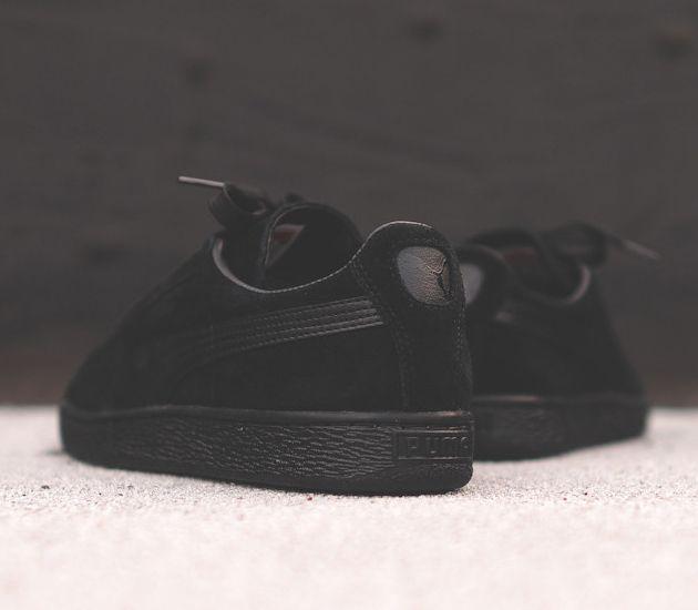 all black puma suede classic