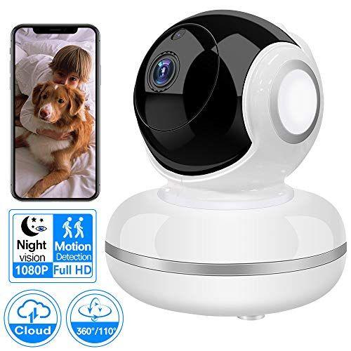 1080P HD Wireless IP Camera Home Security Smart WiFi Baby Pet Dog Monitor Webcam