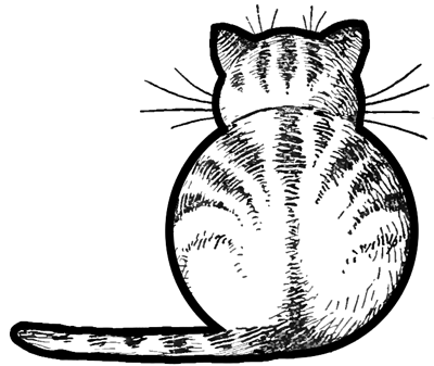 How To Draw Kitty Cats From The Back Easy Step By Step Drawing Tutorials For Kids Preschoolers How To Draw Step By Step Drawing Tutorials Cat Drawing Tutorial Drawing