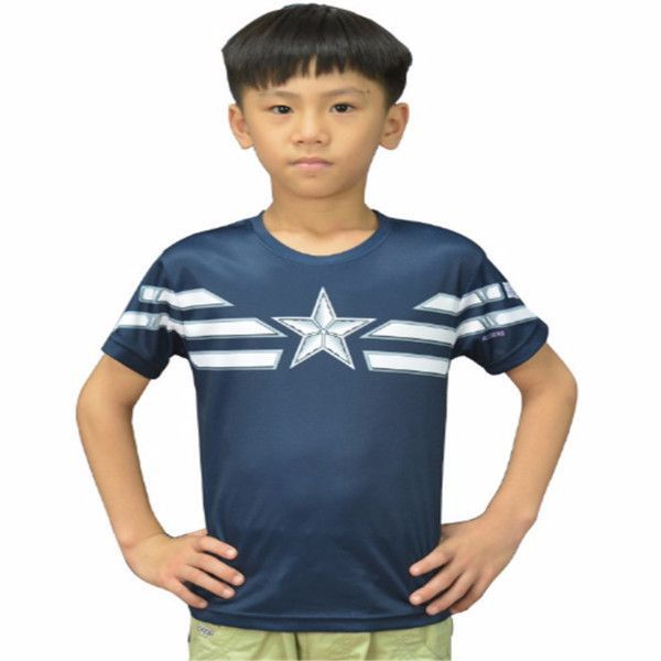 Captain America Kids Shirt
