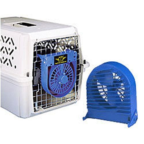 New Metro Air Force Pet Dog Cat Cage Crate Carrier Cooling Fan