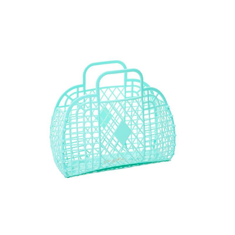 Retro basket small | Emily | Mint | SunJellies