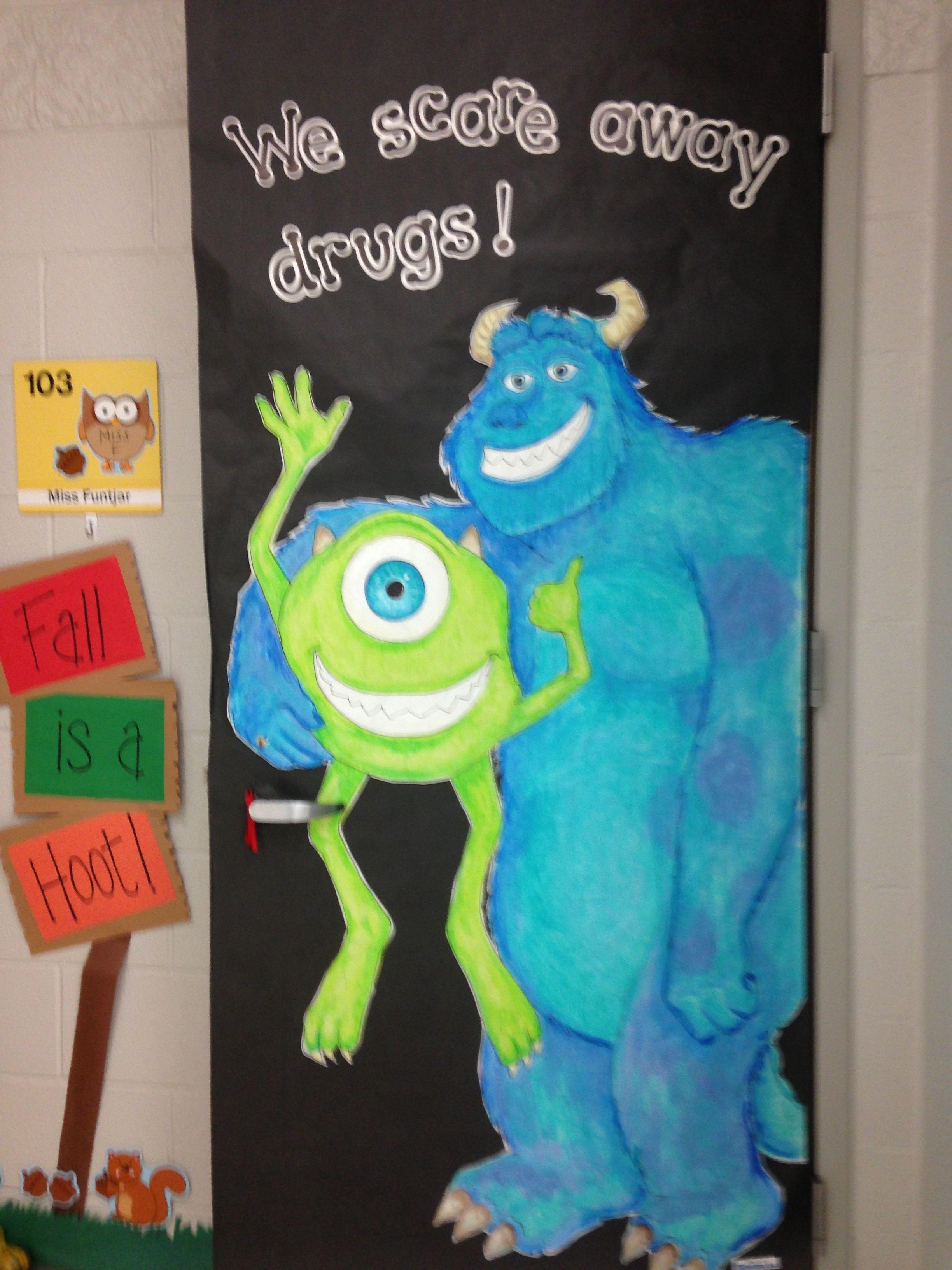 Pin On Classroom Door Drug Prevention