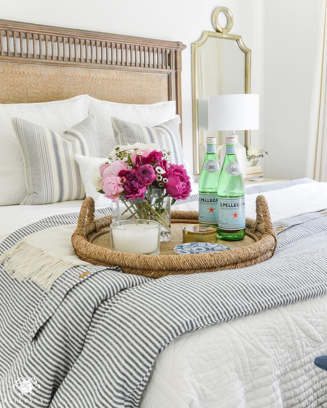 "Gracious Guest Bedroom Decorating Ideas: Gracious Living (@kelleynan) On Instagram: ""Taking"