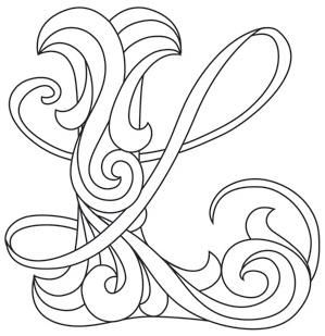Letter Perfect Letter L Image Knowledge Innovations Lettering