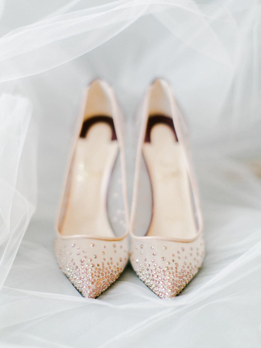 68ee15ac751 Christian Louboutin Follies Strass Pumps in 2019 | Wedding Shoes ...