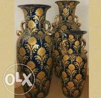 Three Big Vases Big Vases Tools And Accessories Bottles Decoration