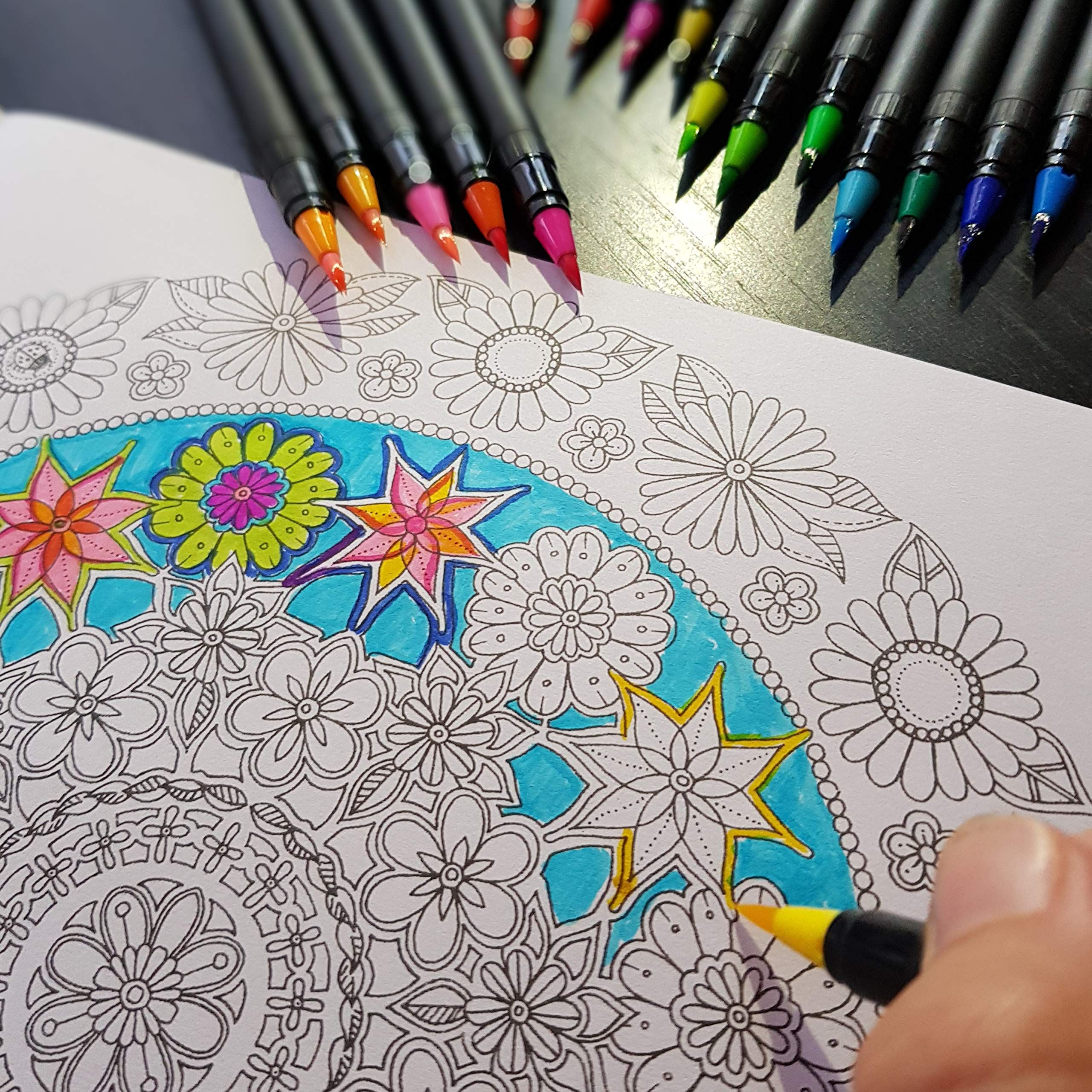 Pin By Hayal On Me Watercolor Brushes Watercolor Brush Pen Coloring Books