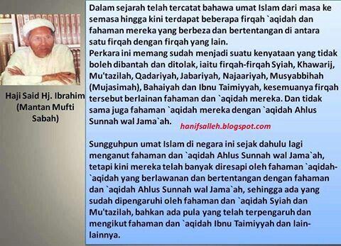Mantan mufti Sabah