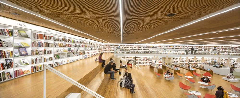 Cultura Bookstore / Studio MK27 - Marcio Kogan + Diana Radomysler + Luciana Antunes + Marcio Tanaka + Mariana Ruzante