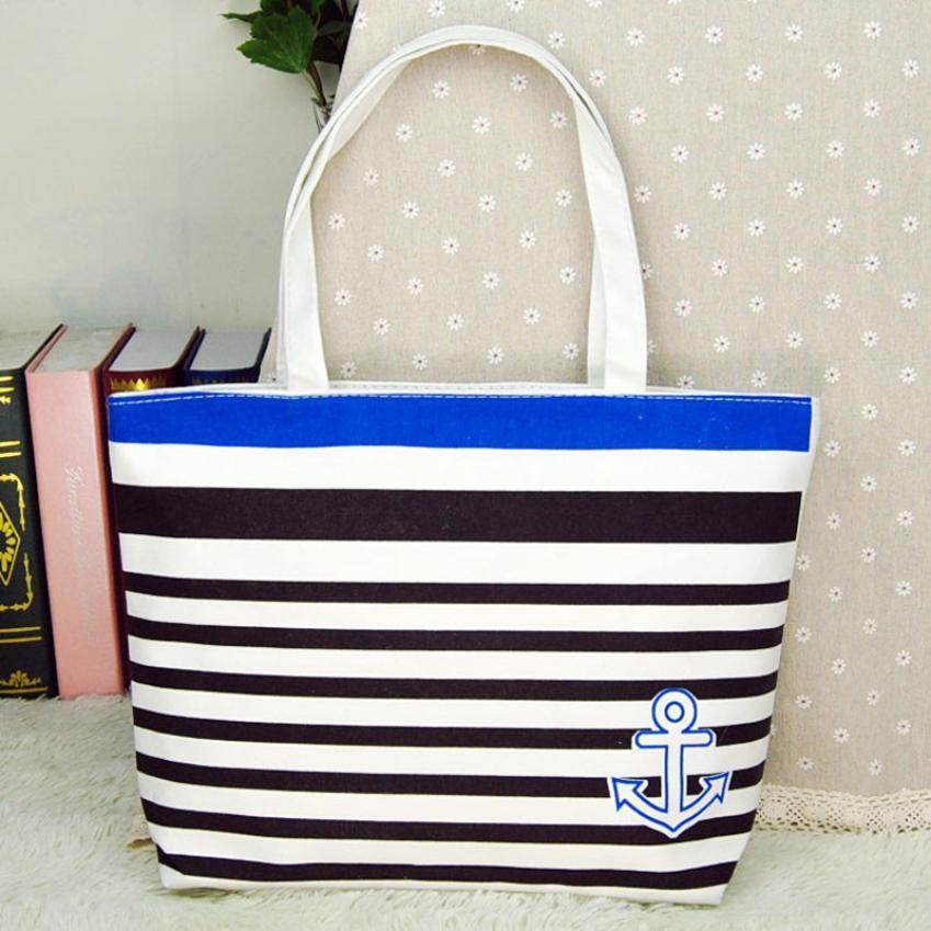 high quality women s handbags made of Canvas with Blue Anchor Pattern. Blue  Anchor Pattern Womens Handbag ... 330253d05de0c