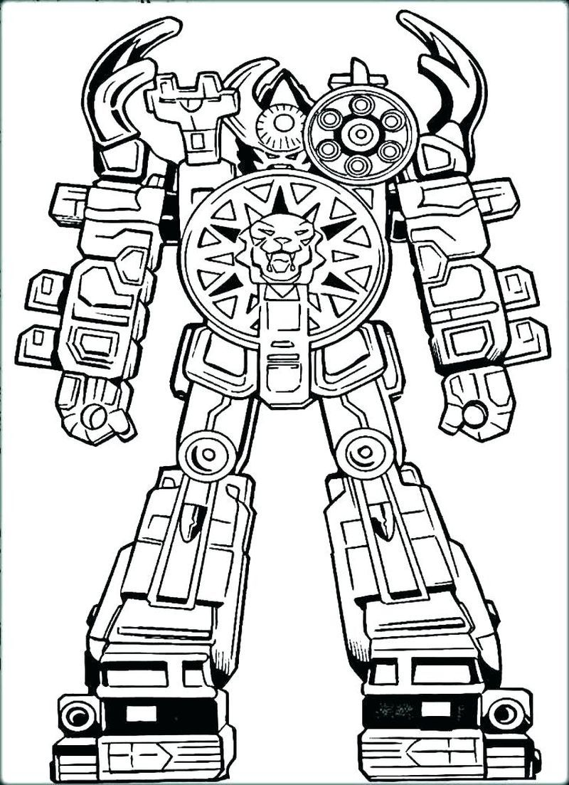 Free Printable Robot Coloring Pages For Kids di 2020