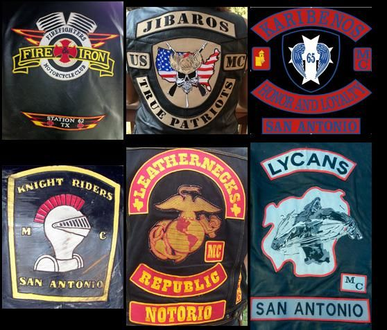 Texas MC   Biker colors   Biker clubs, Motorcycle clubs
