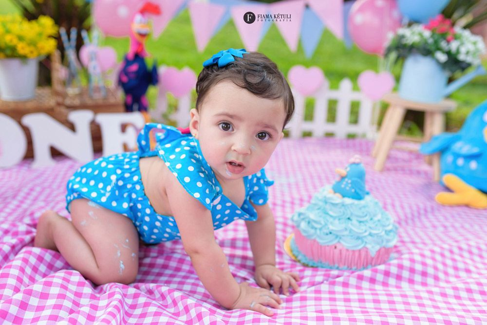 Smash the Cake - Galinha Pintadinha: Manuella - Fiama