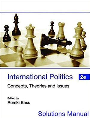 solutions manual for international politics concepts theories and rh pinterest com Modern Political Theory Political Philosophy