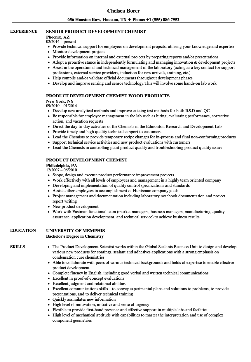 Chemist Resume Sample Dental hygiene resume templates