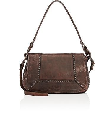 great deals cheap price large discount CAMPOMAGGI Studded Shoulder Bag. #campomaggi #bags #shoulder ...