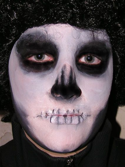Halloween Zombie Schmink.Schminkvoorbeelden Voor Halloween Voorbeelden Om Kinderen