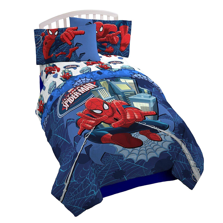 Marvel Spiderman Astonish Full Reversible Comforter Set