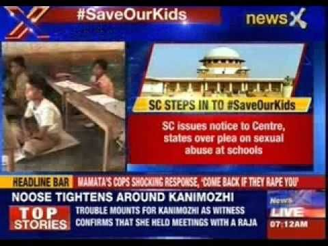 Supreme Court notice to state, centr on PIL seeking safety of kids in schools
