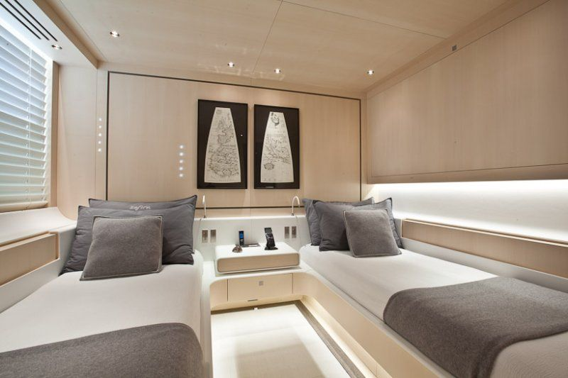 sailing yacht zefira by fitzroy yachts, dubois naval architects, Innenarchitektur ideen