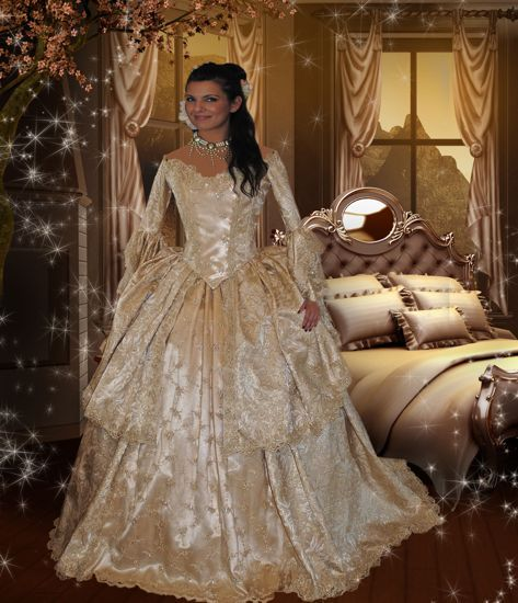 Fantasy wedding gown | Clothing | Pinterest | Gowns, Weddings and ...