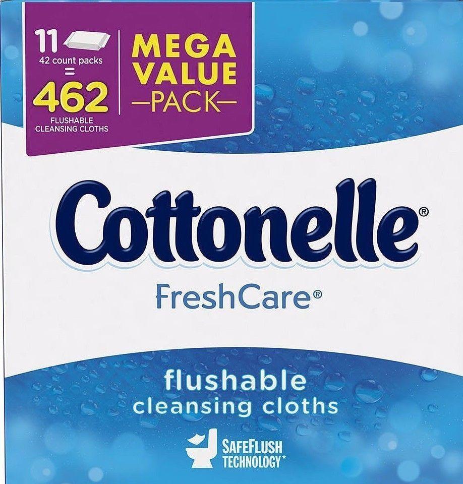Flushable Moist Wipes Cleansing Cloths Bathroom Toilet Paper Septic System Rv Cottonelle Rvtoiletpaper Septicsystem