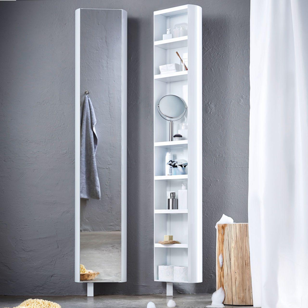 Dieses Regal Hat Den Dreh Raus Wanddrehregal Multi Tube Von Jan Kurtz Schrank Spiegelschrank Badezimmer Spiegelschrank