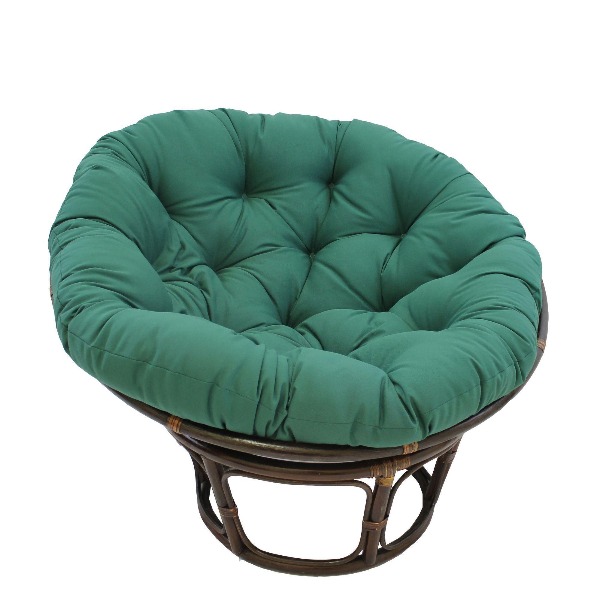 International caravan 42inch rattan papasan chair with