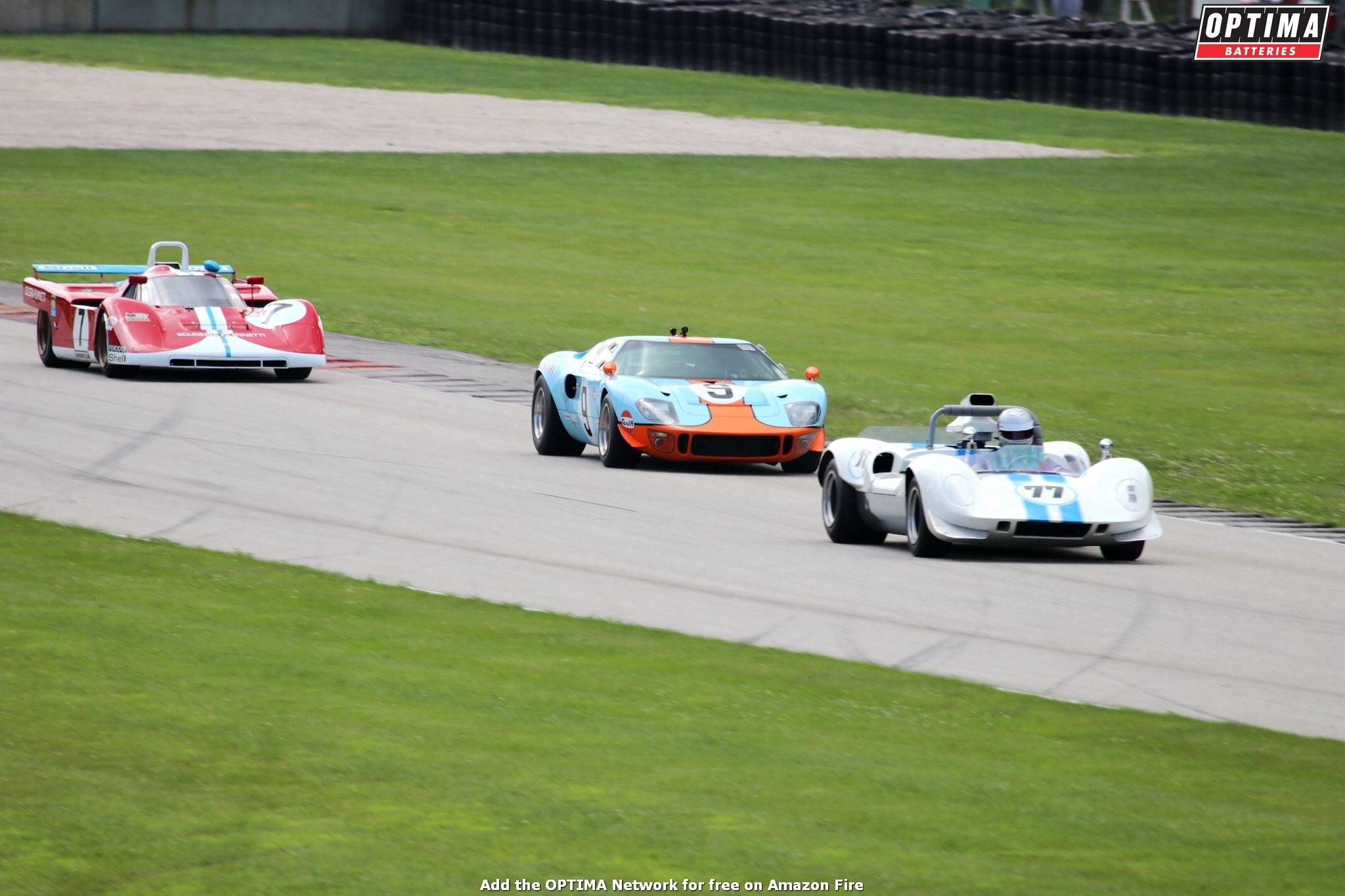 Jeff McKee's 1966 SPF GT40 at the WeatherTech