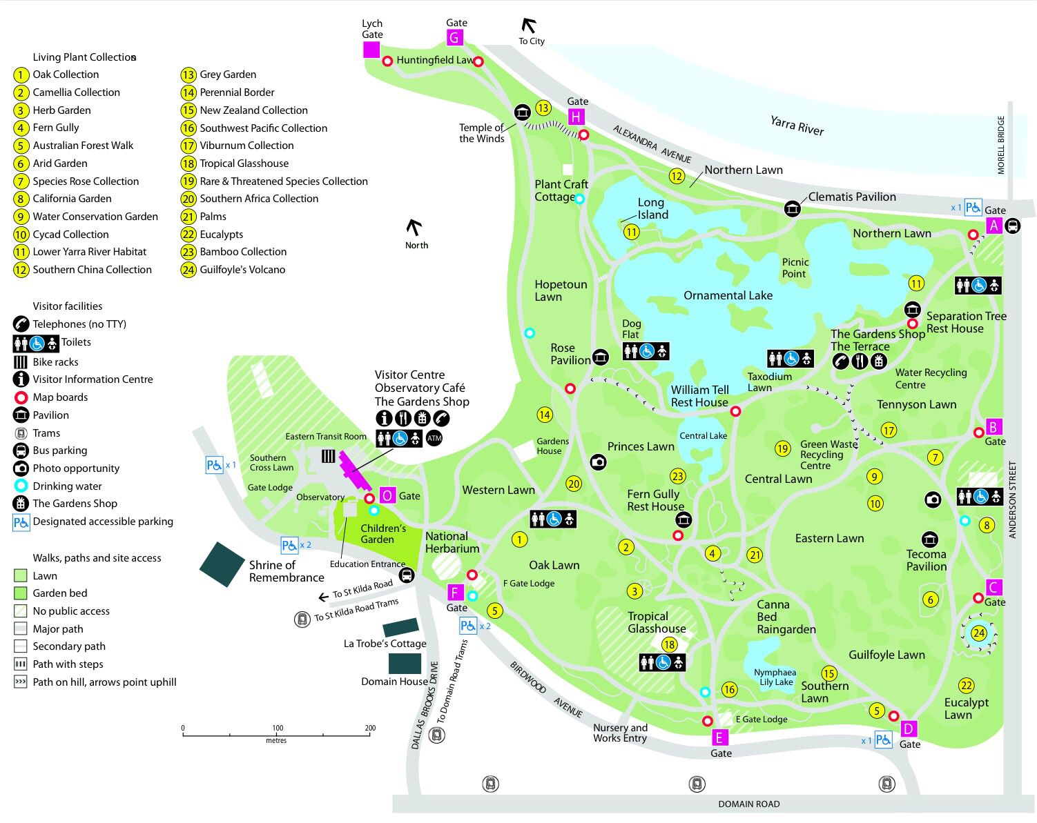 8c3618495c1f31be68b1f9e61766819f - Hong Kong Zoological And Botanical Gardens Map