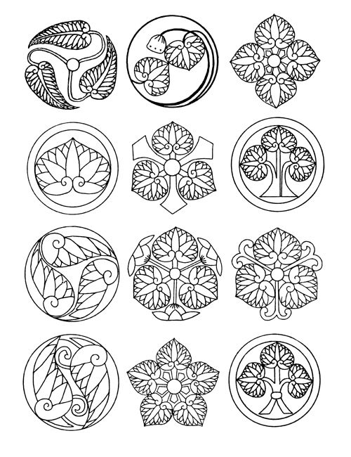Welcome to Dover Publications: Japanese Emblems and