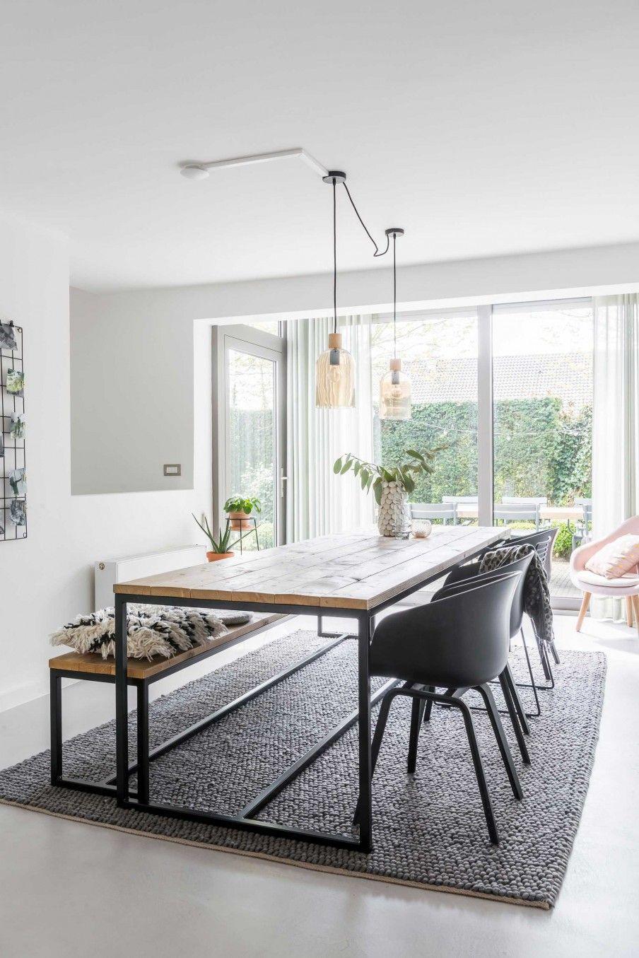 Jaren 70 villa in Lommel | eetkamer | dining room | interior ...