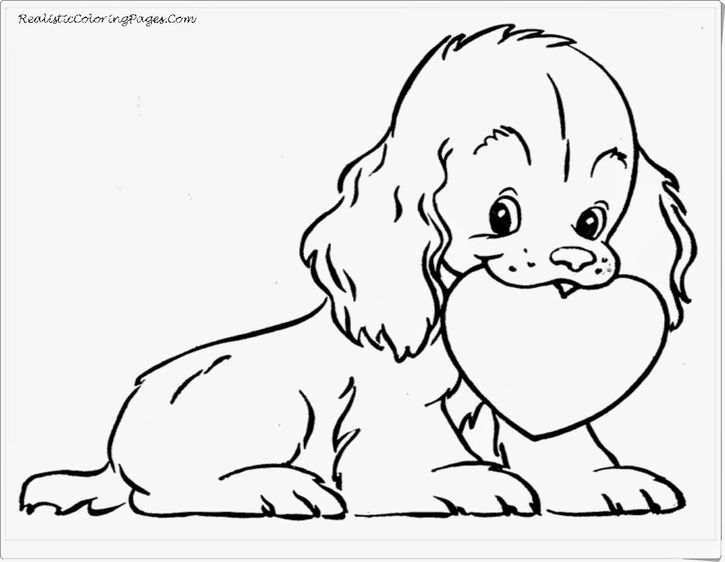 Valentine Animal Coloring Pages Printable Valentines Coloring