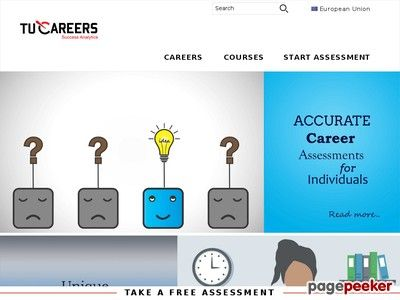 Tucareers is career assessment platform which have resources for