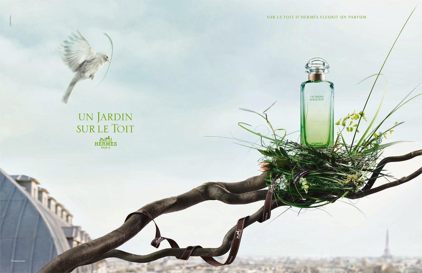 Un Jardin Sur Le Toit Hermes Hermes Fragrance Fragrance