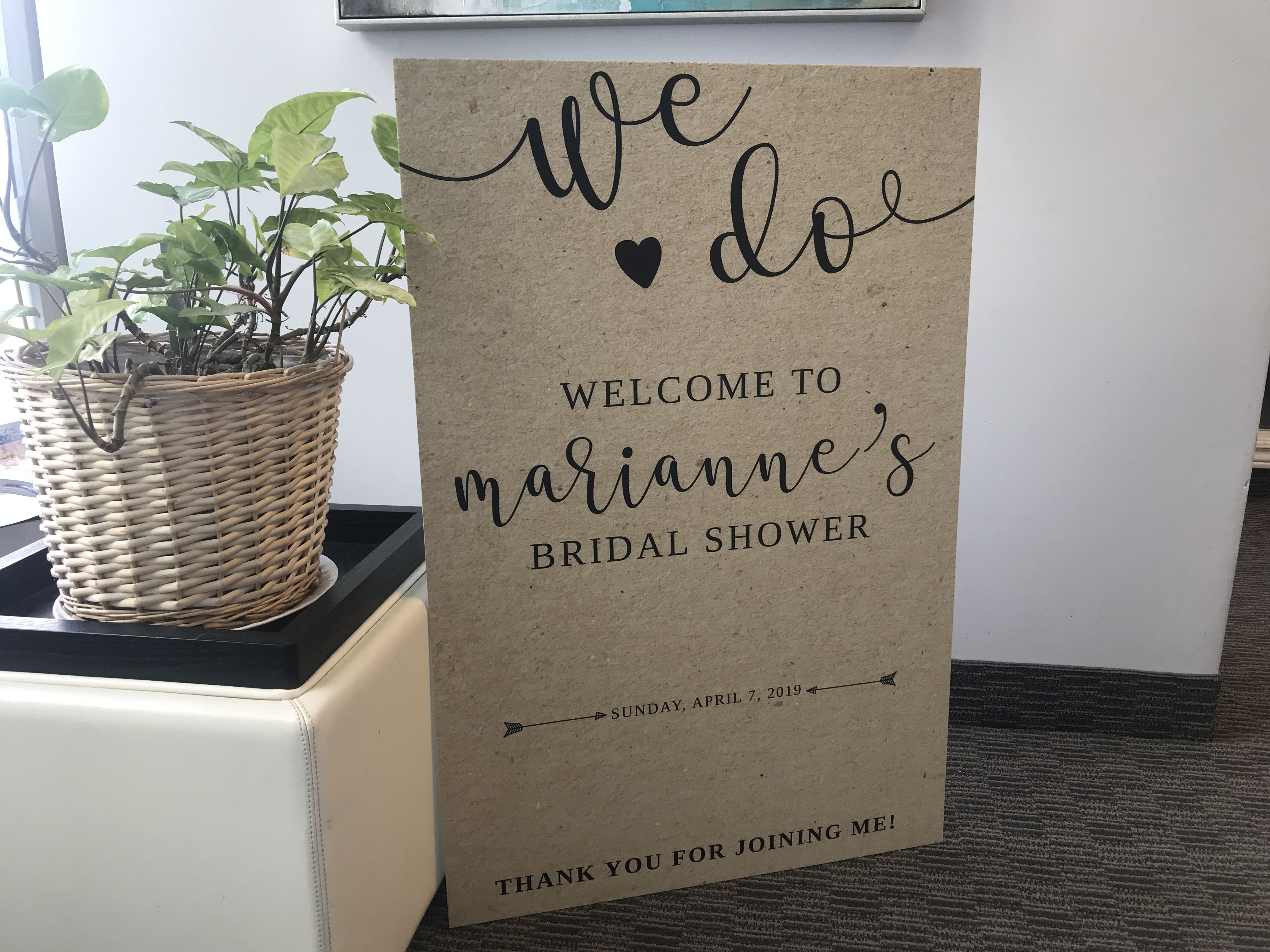 2 X3 Wedding Welcome Sign Welcomesign Wedding