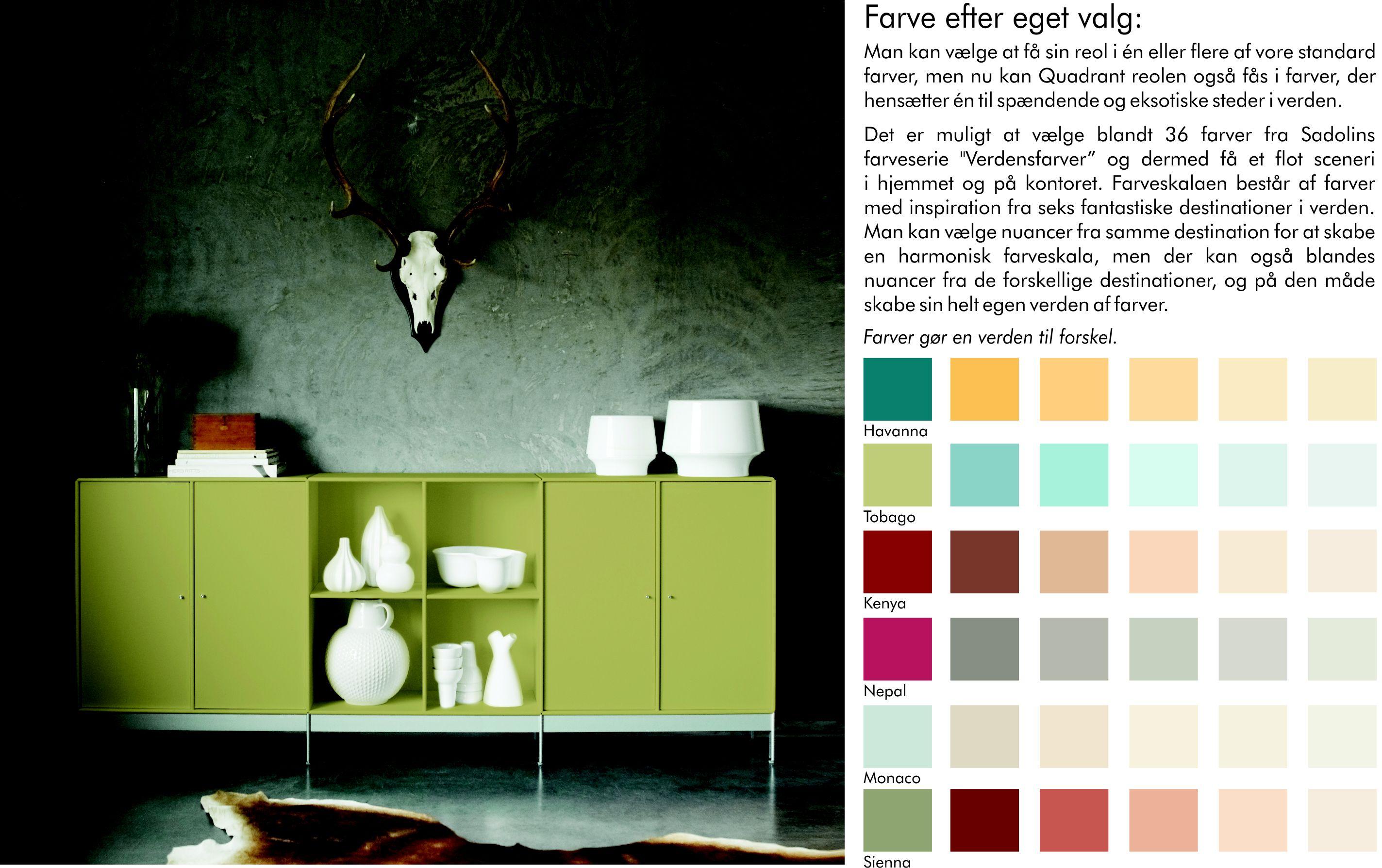 ABC Quadrant findes i alverdens forskellige farver. Find den der passer perfekt til dit hjem, lige her!